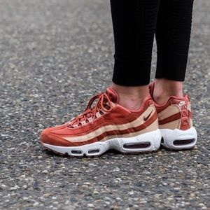 buy popular e2553 87625 Brand New Nike Air Max 95 Velvet Dusty Peach NWT